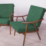 Para foteli, TON, Czechosłowacja, lata 60.