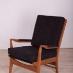 Black Armchair by Samuel Parker for Parker Knoll, 1960s