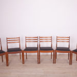 Vintage Teak Dining Chairs by Victor Wilkins for G-Plan, 1960s, Set of 6