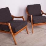 Para foteli, Szwecja, lata 60.