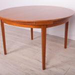 Rozkładany stół, Dyrlund, Dania, lata 70.