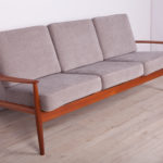 Sofa, proj. G. Jalk, France & Son, Dania, lata 60.
