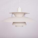 Lampa PH5, proj. P. Henningsen, Louis Poulsen, Dania, lata 60.