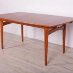 Rozkładany stół, proj. Knud Andersen, J.C.A. Jensen, Dania, lata 60.