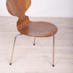 Krzesło Ant, proj. A. Jacobsen, Fritz Hansen, Dania, lata 50.