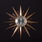 Zegar ścienny słońce, Metamec, Wielka Brytania, lata 70.
