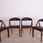 No. 31 Dining Chairs by Kai Kristiansen for Schou Andersen, 1960s, Set of 4