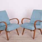 Para foteli, proj. J. Šmidek, TON, lata 60.