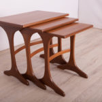 Teak Nesting Tables by Victor Wilkins for G-Plan, 1960s, Set of 3