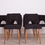 Polish Shell Chairs, 1960s, Set of 6