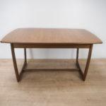Vintage Teak Dining Table, 1960s
