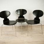 Krzesło Myran, proj. A. Jacobsen, Fritz Hansen, Dania, lata 50.