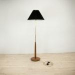 Mid Century Teak Floor Lamp, 1960s