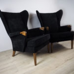 Mid-Century Wingback Armchairs from Parker Knoll, 1960s, Set of 2
