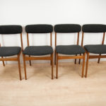 Mid Century Dining Chairs from Thorsø Stolefabrik , 1960s, Set of 4
