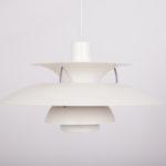 Lampa wisząca PH5, proj. P. Henningsen, Louis Poulsen, Dania, lata 60.