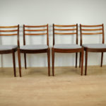 Vintage Dinning Chairs by V. Wilkins for G-Plan, 1960s, Set of 4